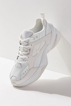 Nike tekno women's sneaker - white 10 at urban outfitters Swag Shoes, Women's Shoes, Me Too Shoes, Golf Shoes, Buy Shoes, Mode Converse, Souliers Nike, Chunky Shoes, Chunky Sneakers