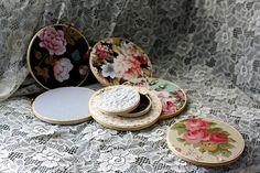 manzanita - fabric embroidery hoop decor