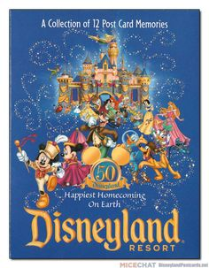 Many thanks to Ken Eslick who toils away over at the Disneyland Postcard Reference Guide, collecting, cataloging, and preserving Disneyland's history of postcards.