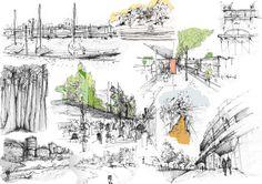 1000 images about bocetos arquitectonicos on pinterest for Croquis un libro de arquitectura para dibujar pdf