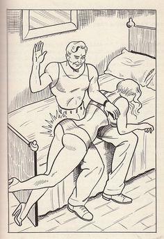 Spank fetish, 1950