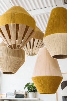 Home Interior Catalogo Dream Weaver Lamps by Pop & Scott Luminaria Diy, Pop And Scott, Mawa Design, Decoration Inspiration, Decor Ideas, Lampshades, Diy Lampshade, Interior Lighting, Diy Furniture
