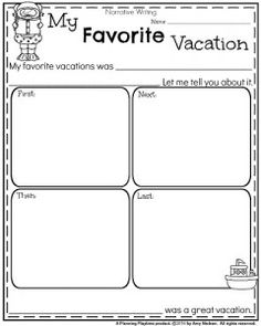 First Grade Writing Prompts for Winter - Planning Playtime                                                                                                                                                                                 More