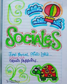 Bullet Journal School, Creative Lettering, Love Tips, Diy And Crafts, My Love, Ideas, Craft, Frases, School Notebooks