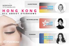#workshop  #purebeau #microblading #hairstroke #powder #allabouteyebrows #germany #katrinhundertmark #hongkong #lamcheung #anamariamargineanu #romania Romania, Microblading Eyebrows, Permanent Makeup, Banners, Workshop, Advertising, Atelier, Banner, Commercial Music