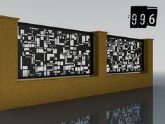 PLOTY GEOMETRY – Ploty-Brány-Zábradlia-Doplnky Plasma Cutting, Coding, Metal, Fences, Ideas, Art, Sign, Balcony, Picket Fences