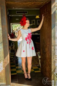 Cloudetteshop, rojo,vestidos, fashion, moda, 2015, tocados