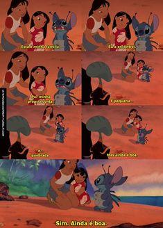 lilo e stitch ❤ Disney Stitch, Lilo And Stitch Movie, Disney Dream, Cute Disney, Disney Films, Disney Pixar, Sabrina Spellman, Disney Quotes, Disney Animation
