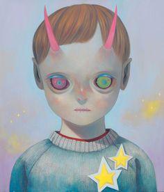 Hikari Shimoda; CHILDREN OF THIS PLANET #18;  Corey Helford Gallery - Shows - Show Detail