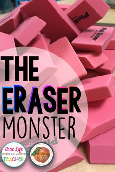 I love this super easy classroom management trick and tip to make my erasers last longer!
