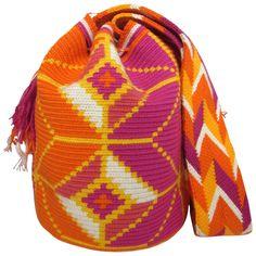 Rubia Mochila Bag $90.00 FREE SHIPPING   Handmade and Fair Trade Wayuu Mochila Bags – LOMBIA & CO.   www.LombiaAndCo.com