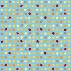 blue star fabric by scrummy on Spoonflower - custom fabric