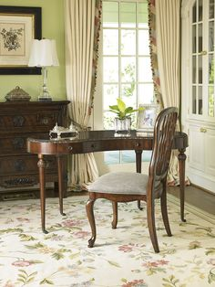 Carved Back Dining Side Chair 1344-820