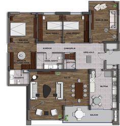 Lotus Beytepe STYLE Kat Planları, Beytepe (Ankara) | Konut ve Ofis Projesi,Özçelik-Pelit