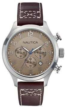 NAUTICA WATCH Mod. BFD 101 CHRONO Serial 135368 Gents add00fd3380