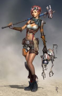 Ayla Character 1 by *Zeronis on deviantART