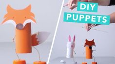 How To Make Toilet Roll Puppets   Nailed It - YouTube