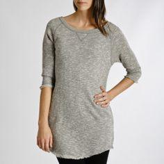 Sweat shirt dress! So comfy!