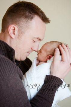 Jessica Casperson Photography, newborn, father and son