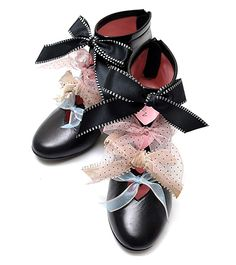 Tulle Ribbon Booties by MILK ~The are lovely