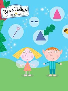 Ben and Holly's Little Kingdom - Print and Colour - ABC4Kids