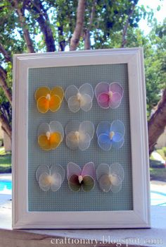 Want to make nylon butterflies this spring? | Craftionary