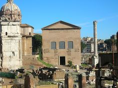 Antico Senato di Roma. The Curia Julia in Rome, the building site in the Roman Forum that housed the Senate. Senate (Patricians) and Consuls in charge of Rome until personal ambition of generals led to the end of this republic.