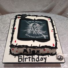 Sons Of Anarchy Cake Toppers