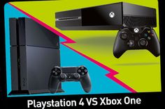 Playstation 4 vs Xbox One - - L'actu pour tous les enfants ! Playstation, Xbox 1, French Education, Console, Science, Games, Technology, Child, Gaming
