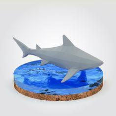 Shark - low poly - 3ds, c4d, r15, obj, max 2013, fbx