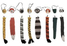 masks & tails for pretend play