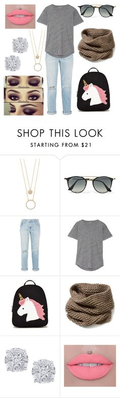 """""""Targeted Deception"""" by drummergirl95 ❤ liked on Polyvore featuring Kate Spade, Ray-Ban, Current/Elliott, Madewell, Forever 21, Lafayette 148 New York and Effy Jewelry"""