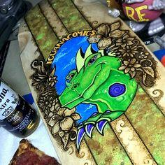 Iguana comics cruiser