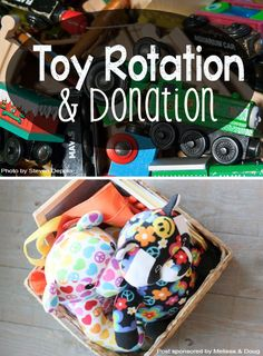 Toy Rotation and Donation *clear the clutter  before the holidays