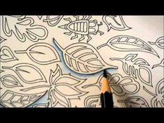 Enchanted Forest | Drawing shadow | Floresta Encantada - YouTube