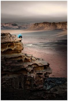 Embrace the Silence - Wadi Rum, Aqaba Jordan by David Lazar