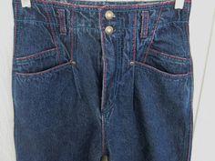 Vintage Wrangler Jeans Bottoms Size 7  27W Inseam 35 by BADTIQUE #wranglerjeans#wranglersize7  $19.85