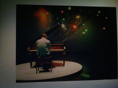 Installation View NEW14. Colour Piano for Chromatic Portraits, 2014. ACCA