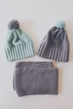 Rumpalin äiti puikoissa: Helmineulepipo & tuubihuivi (Ohje) Knitting For Kids, Loom Knitting, Crochet For Kids, Knitting Socks, Baby Knitting, Knitted Hats, Knitting Patterns, Crochet Needles, Knit Crochet