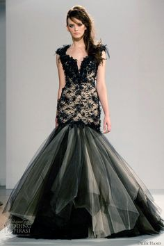 Dilek Hanif Couture Spring 2012 collection