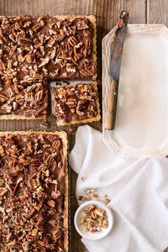 Favorite Pecan Recipes: Chocolate-Pecan Mousse Tarte