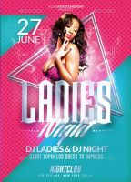 Ladies Night Party | Psd Flyer Templates by RomeCreation