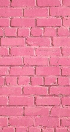 Imagem de wallpaper, pink, and brick