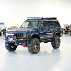 Lifted Jeep Cherokee by Davis Autosports