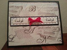 Christmas card 4 #scrapbooking #handmade #Christmas #cards