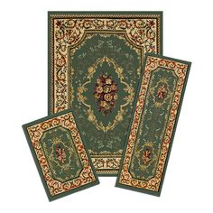 Shop Achim  Capri Rose Garden 3-Piece Rug Set at ATG Stores. Browse our area rugs, all with free shipping and best price guaranteed.
