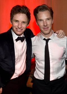 """""""He's an old friend and he's brilliant."""" - Eddie Redmayne on Benedict Cumberbatch.<—right in da fangirl Hot British Actors, British Men, Eddie Redmayne, Benedict Cumberbatch, I Am Number Four, The Other Boleyn Girl, Vatican Cameos, Grey Artist, Pretty Babe"""