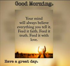 Spiritual Warfare, Spiritual Growth, Good Morning Wishes, Good Morning Quotes, Morning Greetings Quotes, Thank You Lord, Always Believe, English Quotes, Good Thoughts
