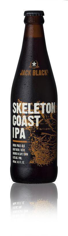 Craft Beer Pack Shots: Jack Black Skeleton Coast IPA www.bakkesimages.co.za
