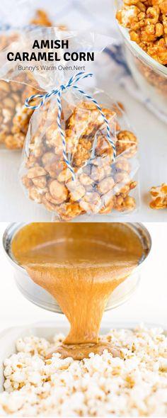 Snack Mix Recipes, Popcorn Recipes, Candy Recipes, Yummy Snacks, Fall Recipes, Holiday Recipes, Dessert Recipes, Yummy Food, Caramel Popcorn Balls Recipe